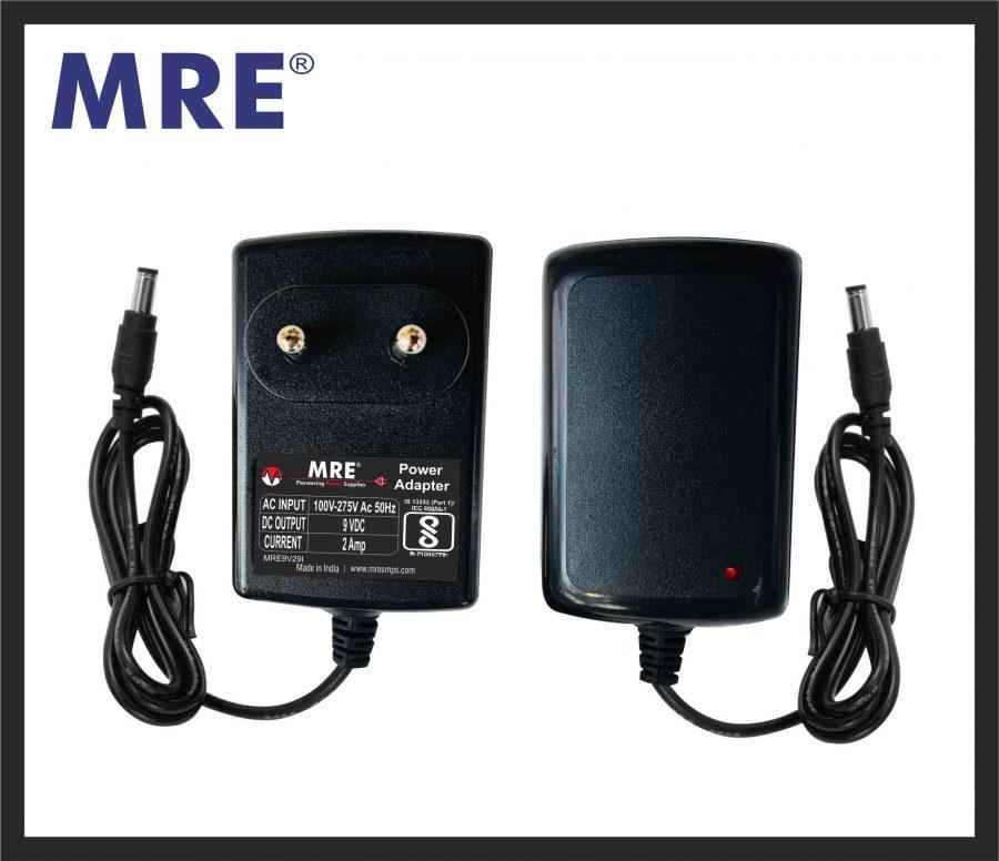 9 volt power adapter