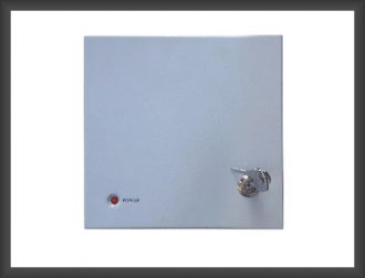 Lock & Key Type CCTV Power Supply