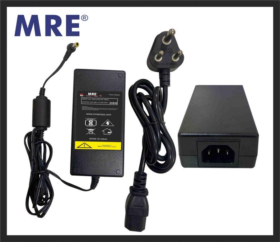 48 volt desktop power adapter